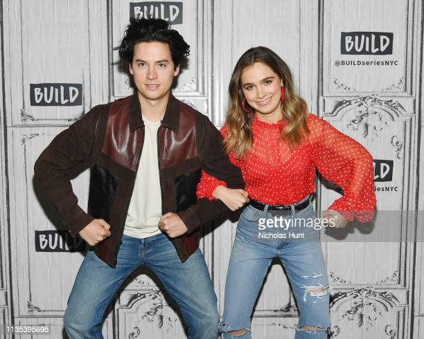 Cole Sprouse and Haley Lu Richardson visits Build to discuss Five Feet Apart at Build Studio on March 12 2019 in New York City
