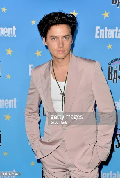 Cole Sprouse attends Entertainment Weekly ComicCon Celebration at Float at Hard Rock Hotel San Diego on July 20 2019 in San Diego California