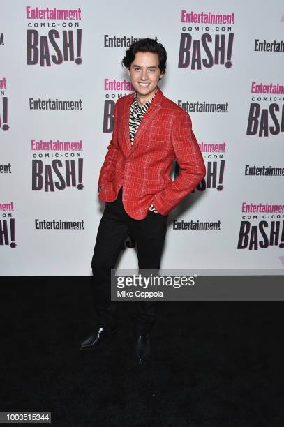 Cole Sprouse attends Entertainment Weekly's ComicCon Bash held at FLOAT Hard Rock Hotel San Diego on July 21 2018 in San Diego California sponsored...