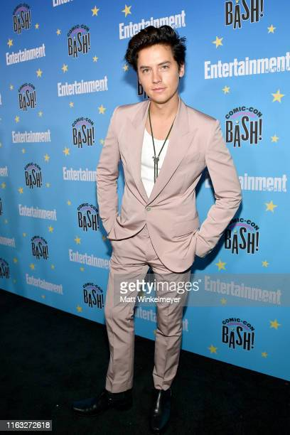 Cole Sprouse attends Entertainment Weekly's ComicCon Bash held at FLOAT Hard Rock Hotel San Diego on July 20 2019 in San Diego California sponsored...