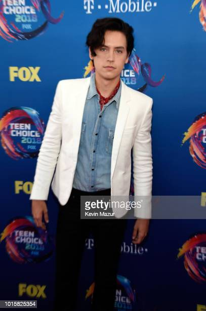 Cole Sprouse attends FOX's Teen Choice Awards at The Forum on August 12 2018 in Inglewood California