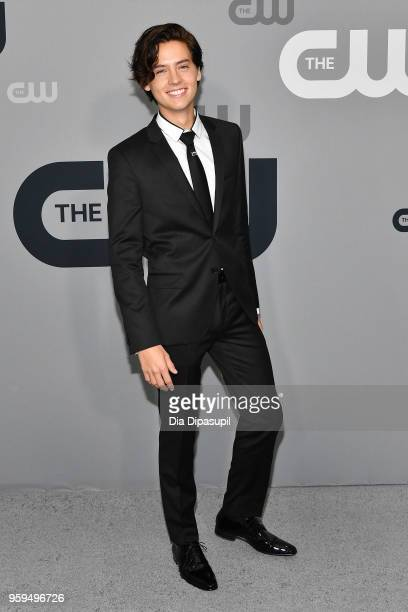 Cole Sprouse attends the 2018 CW Network Upfront at The London Hotel on May 17 2018 in New York City