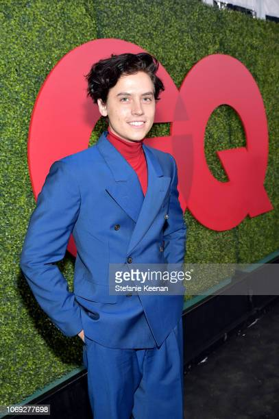Cole Sprouse attends the 2018 GQ Men of the Year Party at a private residence on December 6 2018 in Beverly Hills California