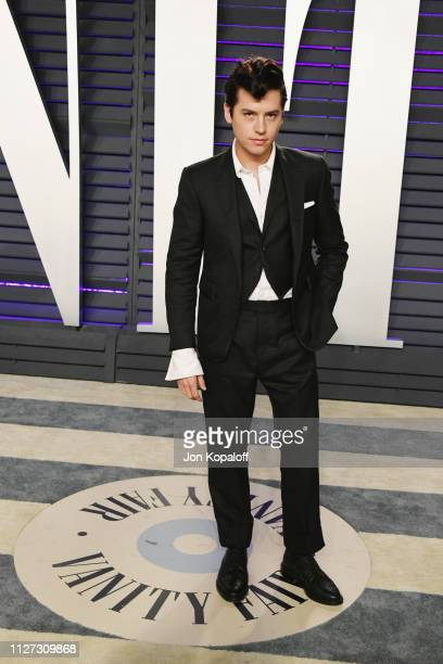 Cole Sprouse attends the 2019 Vanity Fair Oscar Party hosted by Radhika Jones at Wallis Annenberg Center for the Performing Arts on February 24 2019...