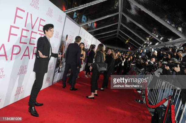 Cole Sprouse attends the Five Feet Apart Los Angeles premiere on March 07 2019 in Los Angeles California