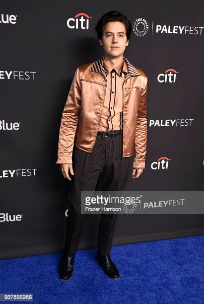 Cole Sprouse attends The Paley Center For Media's 35th Annual PaleyFest Los Angeles Riverdale at Dolby Theatre on March 25 2018 in Hollywood...