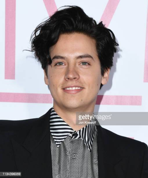 Cole Sprouse attends the premiere of Lionsgate's Five Feet Apart at Fox Bruin Theatre on March 07 2019 in Los Angeles California