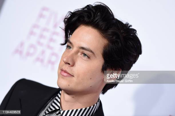 Cole Sprouse attends the premiere of Lionsgate's 'Five Feet Apart' at Fox Bruin Theatre on March 07 2019 in Los Angeles California