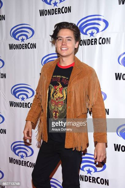 Cole Sprouse attends the 'Riverdale' panel at WonderCon 2017 Day 1 at Anaheim Convention Center on March 31 2017 in Anaheim California