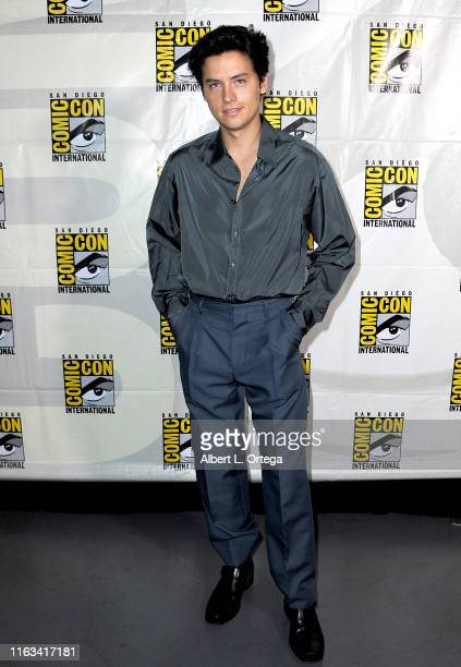 Cole Sprouse attends the Riverdale Special Video Presentation and QA during 2019 ComicCon International at San Diego Convention Center on July 21...