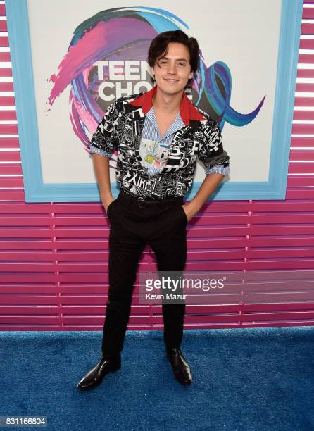 Cole Sprouse attends the Teen Choice Awards 2017 at Galen Center on August 13 2017 in Los Angeles California