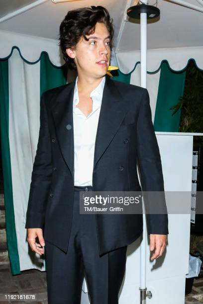 Cole Sprouse is seen on January 06 2020 in Los Angeles California