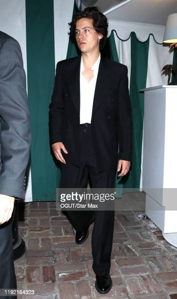 Cole Sprouse is seen on January 6 2020 in Los Angeles California