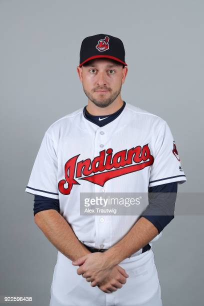 Cole Sulser of the Cleveland Indians poses during Photo Day on Wednesday February 21 2018 at Goodyear Ballpark in Goodyear Arizona