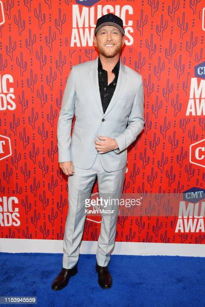 Cole Swindell attends the 2019 CMT Music Award at Bridgestone Arena on June 05 2019 in Nashville Tennessee