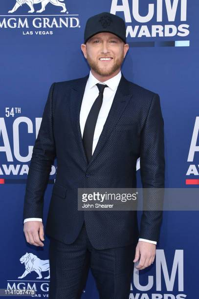 Cole Swindell attends the 54th Academy Of Country Music Awards at MGM Grand Hotel Casino on April 07 2019 in Las Vegas Nevada