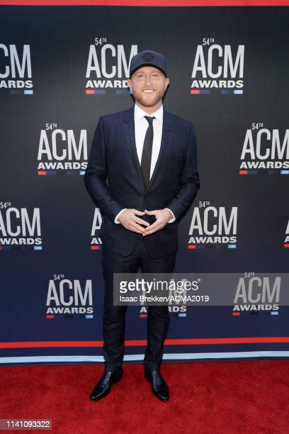 Cole Swindell attends the 54th Academy Of Country Music Awards at MGM Grand Garden Arena on April 07 2019 in Las Vegas Nevada