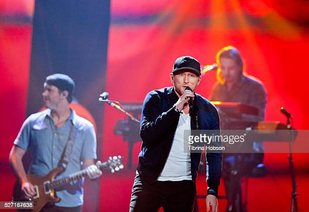 Cole Swindell performs at 2016 iHeartCountry Festival at The Frank Erwin Center on April 30 2016 in Austin Texas