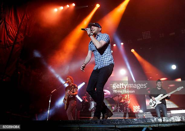 Cole Swindell performs at Country Thunder Arizona 2016 at Country Thunder West on April 8 2016 in Florence Arizona
