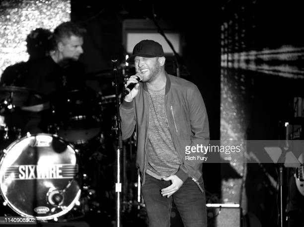 Cole Swindell performs onstage at ACM Lifting Lives® Decades on April 06 2019 in Las Vegas Nevada