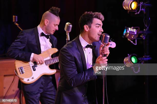LIVE Cole Whittle and Joe Jonas as Johnny Casono rehearse for GREASE LIVE airing LIVE Sunday Jan 31 on FOX