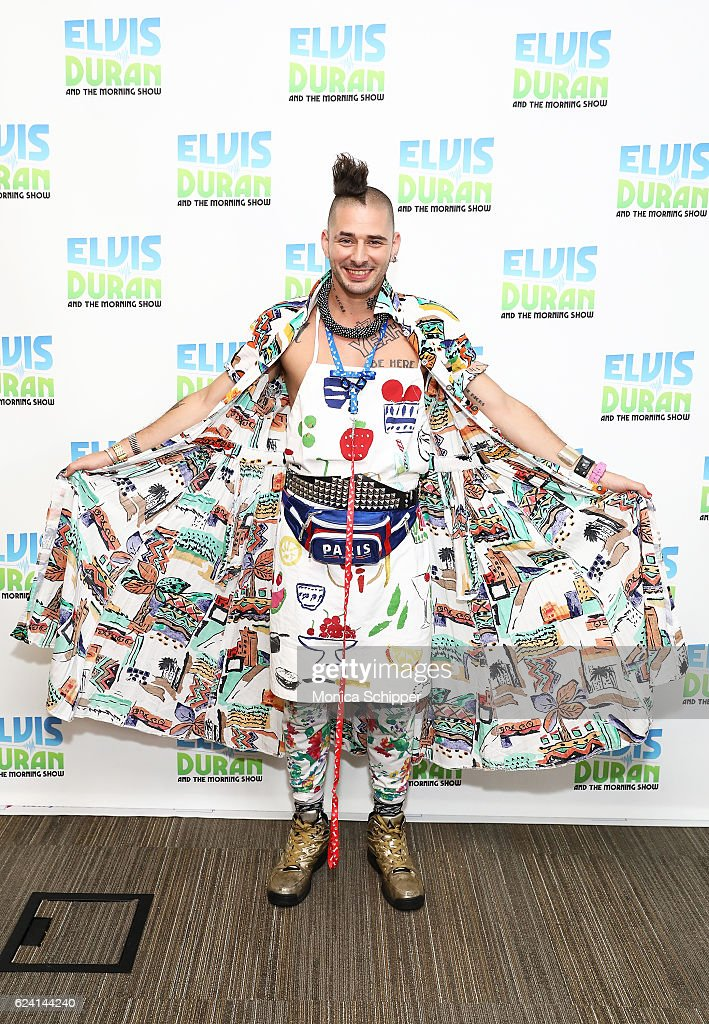 Cole Whittle of band DNCE poses for a photo when DNCE visit 'The Elvis Duran Z100 Morning Show' at Z100 Studio on November 18, 2016 in New York City.