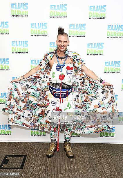 Cole Whittle of band DNCE poses for a photo when DNCE visit The Elvis Duran Z100 Morning Show at Z100 Studio on November 18 2016 in New York City