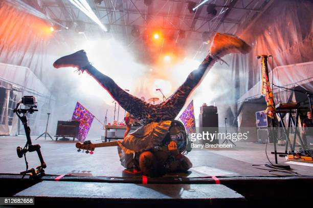 Cole Whittle of DNCE performs during the 2017 Festival d'ete de Quebec on July 10 2017 in Quebec City Canada