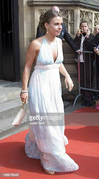 Coleen Mcloughlin Attends The Wedding Of Gary Neville Emma Hadfield At The Manchester Cathedral In ManchesterPictture Uk Press