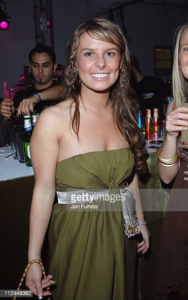 Coleen McLoughlin during Elle Style Awards 2006 After Party at Atlantis Gallery Old Truman Brewery in London Great Britain