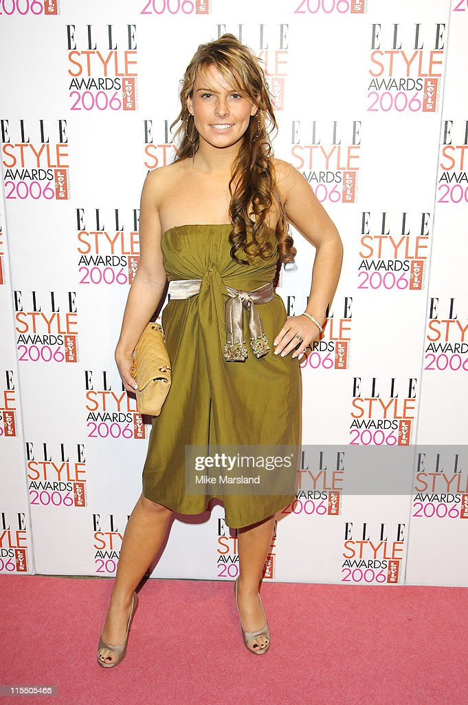 Coleen McLoughlin during Elle Style Awards 2006 - Inside Arrivals at Old Truman Brewery in London, Great Britain.