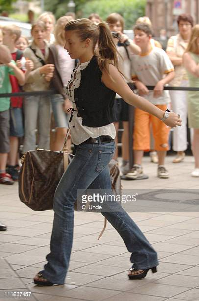 Coleen McLoughlin during England Football Players Wives and Girlfriends Sightings June 22 2006 in Baden Baden Germany