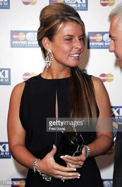 Coleen McLoughlin during FIFPRO World XI Player Awards at Wembley Conference Centre in London Great Britain
