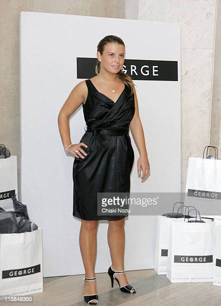Coleen McLoughlin during George 2006 Autumn/Winter Fashion Preview at Victoria House in London Great Britain
