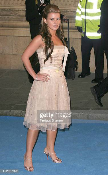 Coleen McLoughlin during 'The Chronicles of Narnia The Lion The Witch and the Wardrobe' London Premiere Outside Arrivals at Royal Albert Hall in...