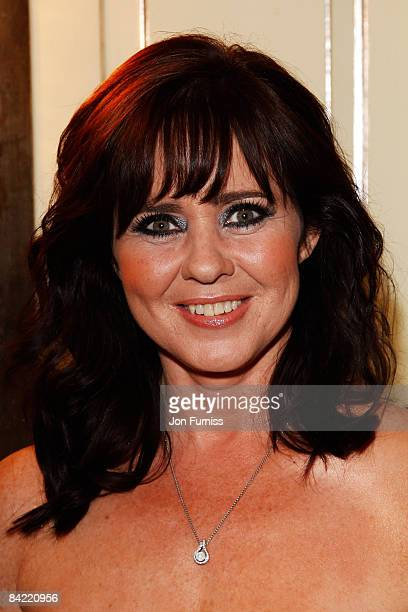 Coleen Nolan arrives at the TV Quick TV Choice Awards Held at the Dorchester Hotel on September 8 2008 in London England