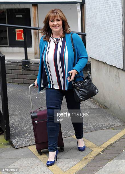 Coleen Nolan at The ITV Studios on July 6 2015 in London England