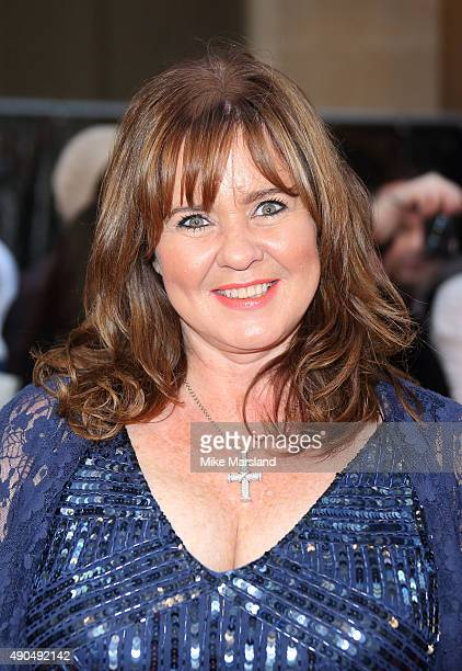 Coleen Nolan attends the Pride of Britain awards at The Grosvenor House Hotel on September 28 2015 in London England