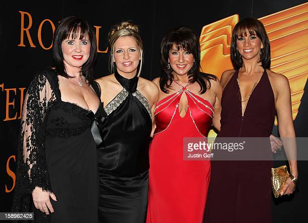 Coleen Nolan, Jackie Brambles, Jane Mcdonald, Andrea Mclean Arrive At The Royal Television Society Programme Awards Held At The Grosvenor House...