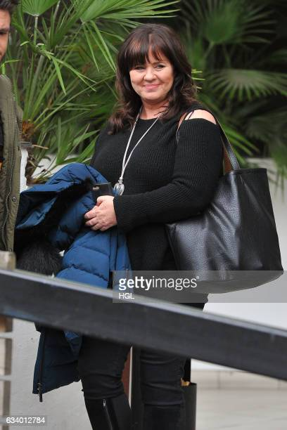 Coleen Nolan seen after presenting on the Loose Women show on February 6 2017 in London England
