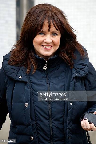 Coleen Nolan seen leaving the ITV Studios after hosting 'Loose Women' on January 7 2015 in London England Photo by Neil Mockford/Alex Huckle/GC Images