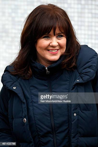 Coleen Nolan seen leaving the ITV Studios on January 12 2015 in London England Photo by Neil Mockford/Alex Huckle/GC Images