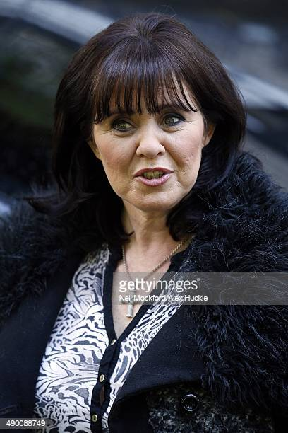 Coleen Nolan sighted leaving the ITV Studios after hosting 'Loose Women' May 13 2014 in London England