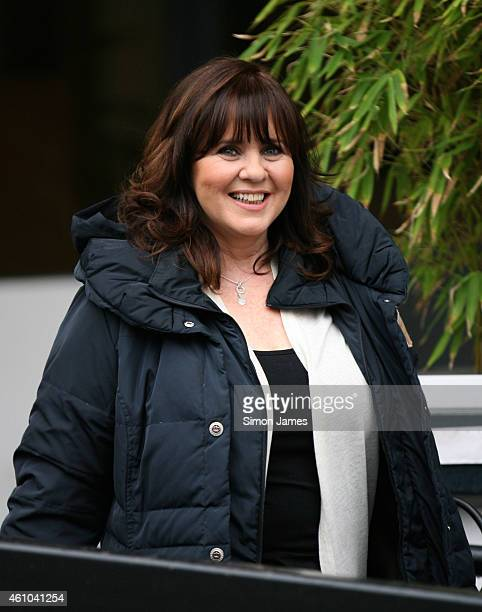 Coleen Nolan sighting at the ITV studios on January 5 2015 in London England
