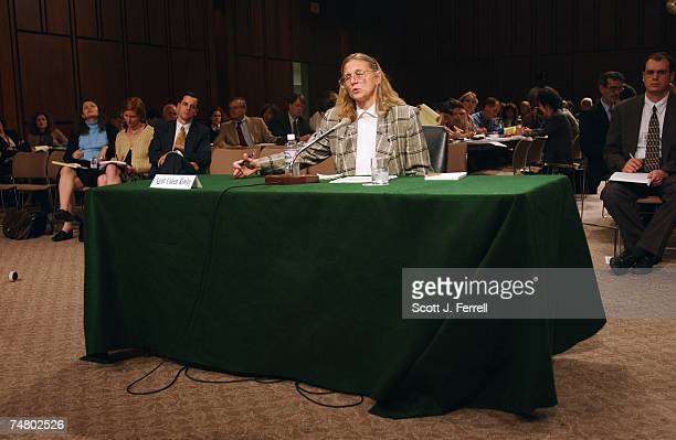COUNTERTERRORISM Coleen Rowley an FBI special agent in Minneapolis testifies before Senate Judiciary Rowley wrote a May 21letter to FBI Director...