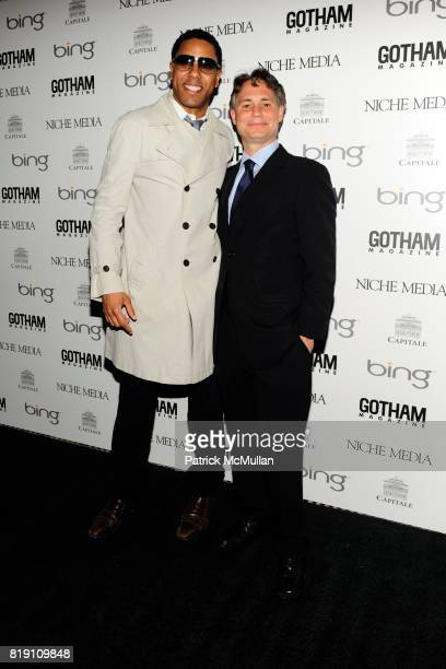 Coleman and Jason Binn attend ALICIA KEYS Hosts GOTHAM MAGAZINES Annual Gala Presented by BING at Capitale on March 15 2010 in New York City
