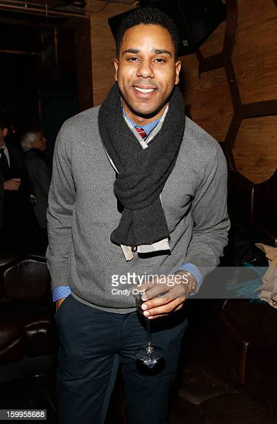 Coleman attends DuJour Magazine Gala with Coco Rocha and Nigel Barker presented by TW Steel at Scott Sartiano and Richie Akiva's The Darby on January...