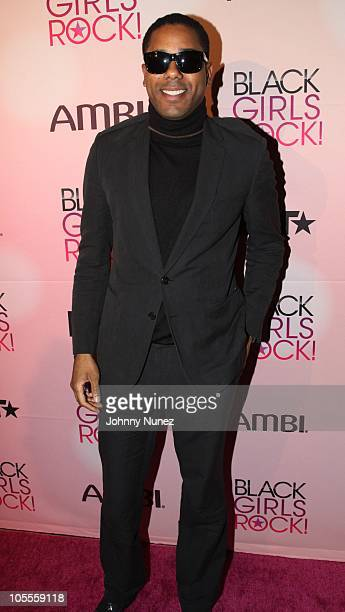 Coleman attends the Black Girls Rock Shot Callers dinner at Fred's on October 15 2010 in New York City