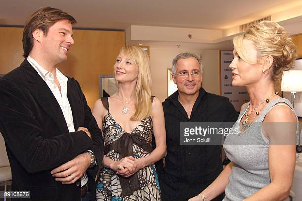 Coleman Laffoon Anne Heche Enzo Angileri and Kelly Carlson at Biolage