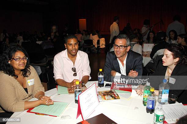 BJ Coleman Lionel Geneste and attend NEW YORKERS FOR CHILDREN Network to Success Fashion Panel at New York University on June 13 2007 in New York City